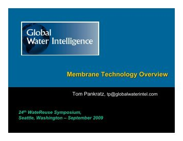 Membrane Technology Overview