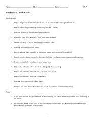 ExamView - Study Guide.Benchmark2.tst