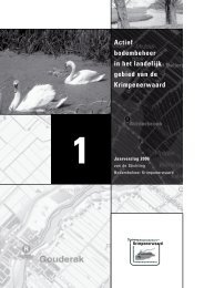 Jaarverslag 2006 - SBK-Krimpenerwaard.nl