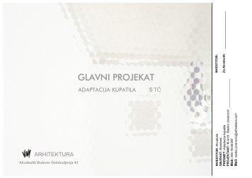 Da pogledate glavni projekat kupatila ST kliknite ovde - Akvabutik