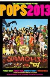 Pops Concert Program - Santa Monica High School Bands