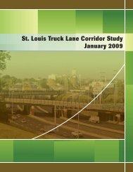 St. Louis Truck Lane Corridor Study - Improve I70