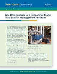 Key Components to a Successful Steam Trap Management Program