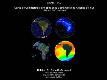 Diapositiva 1 - Departamento de Geofísica - Universidad de Chile