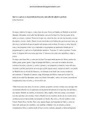 Qué es y qué no es el periodismo literario: más allá del adjetivo ...