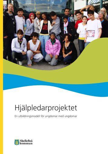 Hjälpledarprojektet - broschyr (pdf, öppnas i nytt fönster)