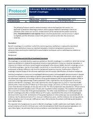 Endoscopic Radiofrequency Ablation or Cryoablation for Barrett's ...