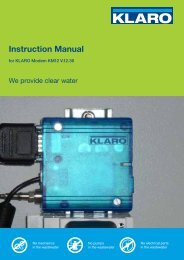 Instruction Manual - KLARO GmbH