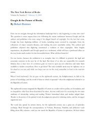 The New York Review of Books - Fulmini e Saette