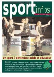 Un sport à dimension sociale et éducative - Union Nationale ...