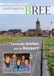 stadsmagazine - Stad Bree
