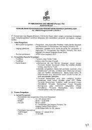 Pengumuman Pengadaan Jasa Konsultan Penilaian HBB ... - PGN