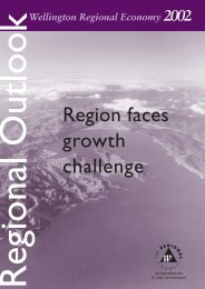 Wellington regional outlook - Infometrics