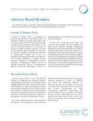 Advisory Board Members - Catalyst