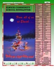 December 2011 Newsletter - Seven Oaks School Division