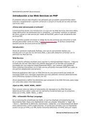 Introducción a los Web Services en PHP - Earth Charter Initiative