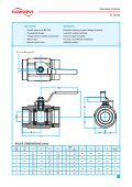 Worcester Controls 81 Series Fully Welded Ball Valves - Fagerberg - Page 3