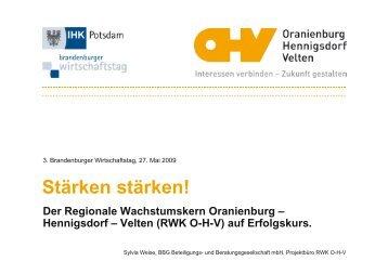 RWK OHV - Brandenburger Wirtschaftstag