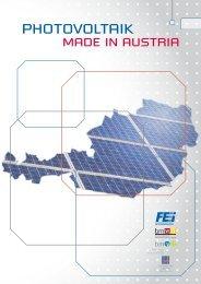 Technologie Plattform Photovoltaik