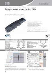 Attuatore elettromeccanico 230V - Faac