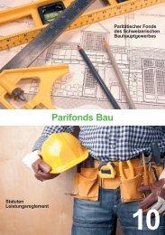 Paritätischer Fonds des Schweizerischen Bauhauptgewerbes ...