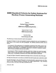 IEEE Std 603-1991 - The IEEE Standards Association
