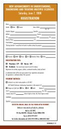 registration form - Continuing Professional Education - University of ...