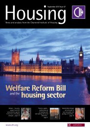 news - Chartered Institute of Housing