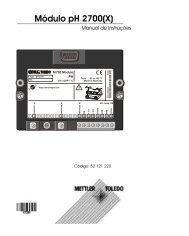 Módulo pH 2700(X) - METTLER TOLEDO