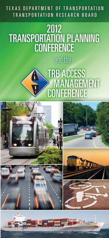 complete program - Texas A&M Transportation Institute
