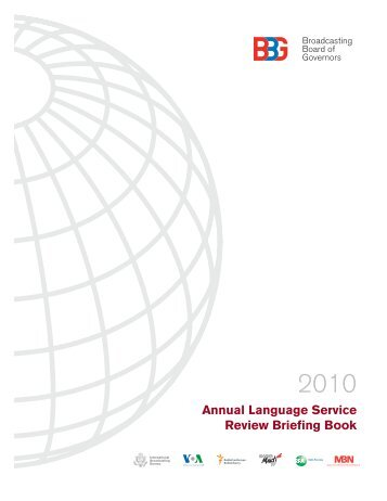 Annual Language Service Review Briefing Book - Broadcasting ...