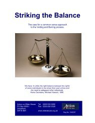 Striking a Balance - Action on Elder Abuse