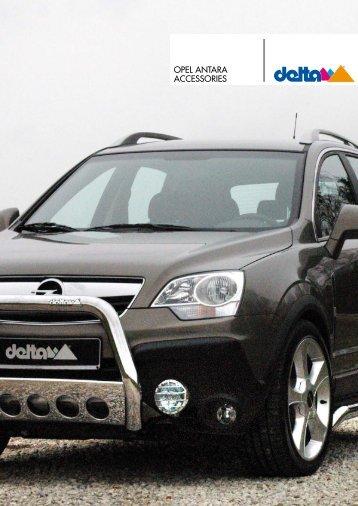 PEUGEOT ACCESSORIES OPEL ANTARA ... - Auto-Stieger