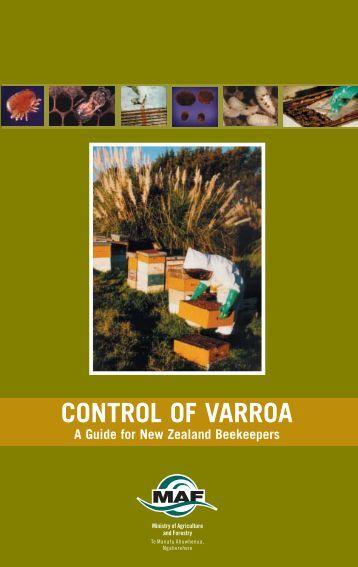 Control of Varroa - Biosecurity New Zealand