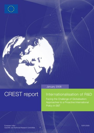 CREST report Internationalisation of R&D - European Commission ...