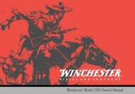Winchester Model 1300 Owner's Manual