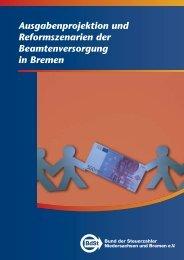 Ausgabenprojektion und Reformszenarien der Beamtenversorgung ...