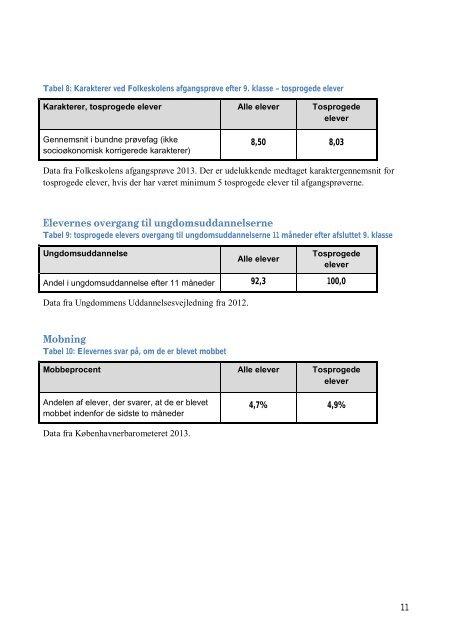 Kvalitetsrapport 2013 - BUFnet - Københavns Kommune