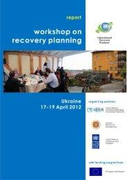 Open File - International Recovery Platform