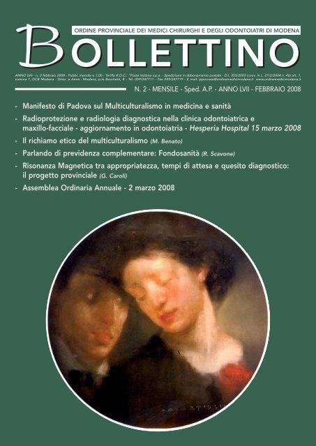 Febbraio 2008 (pdf - 460 KB) - Ordine Provinciale dei Medici ...