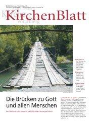 Die Brücken zu Gott und allen Menschen