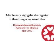Se oplæg - Københavns Madhus