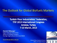 The Outlook for Global Biofuels Markets