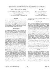 Autonomous memory block for reconfigurable computing - IEEE Xplore