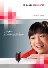 Product brochure (PDF) - Leuze electronic
