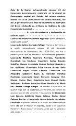 Acta de la Sesión extraordinaria número 10 del ... - Guanajuato