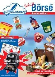 Kunden-Name - SCHWÄLBCHEN Frischdienst GmbH