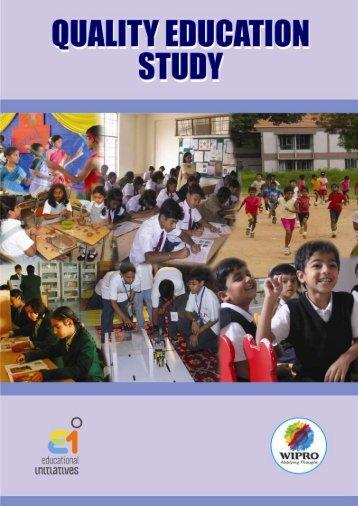 Quality Education Study - Teindia.nic.in