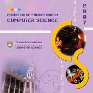 Admission - Department of Computer Science, HKU - The University ...