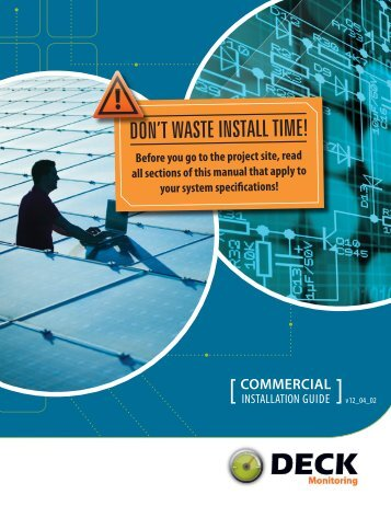 DON'T WASTE INSTALL TIME! - Solar 4R Schools
